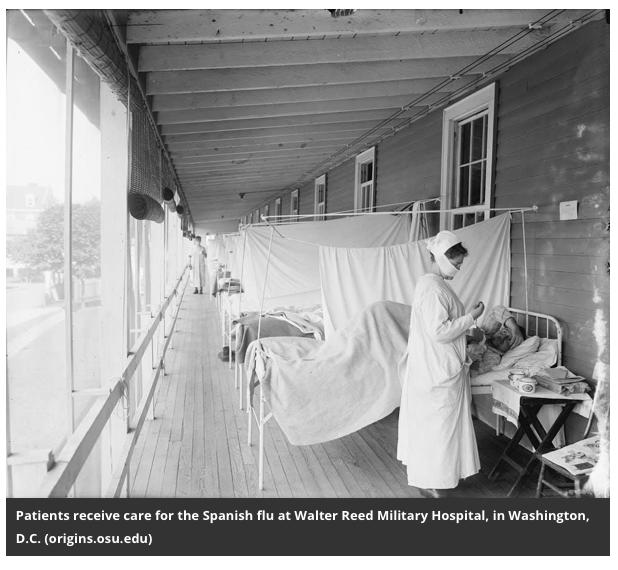 Walter Reed Military Hospital - historical picture