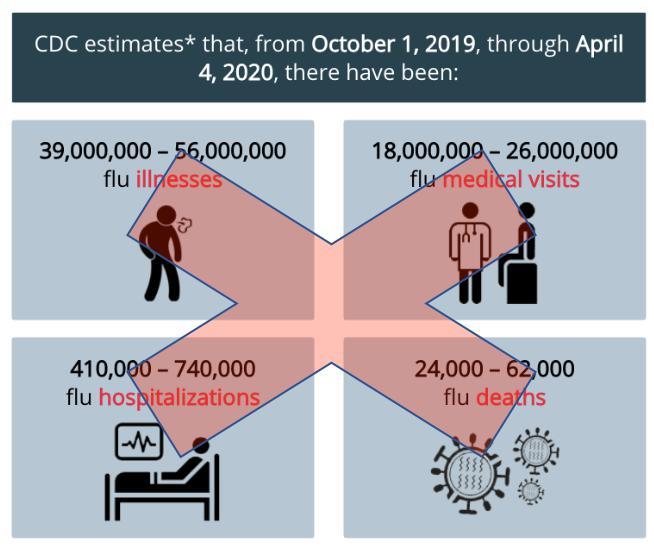 2019-2020 Flu Estimates