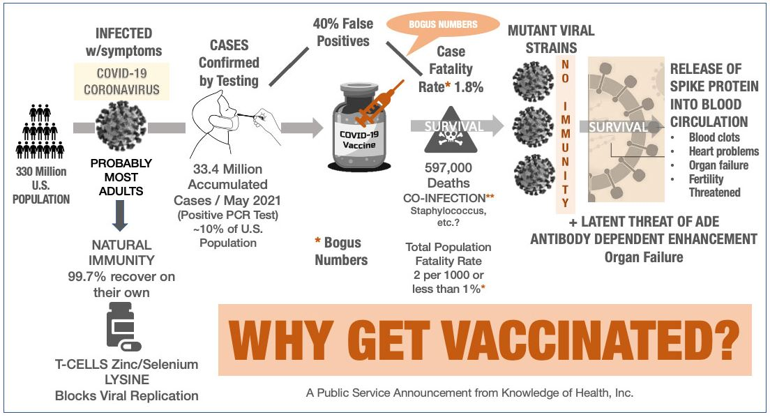 Chart: Why Get Vaccinated